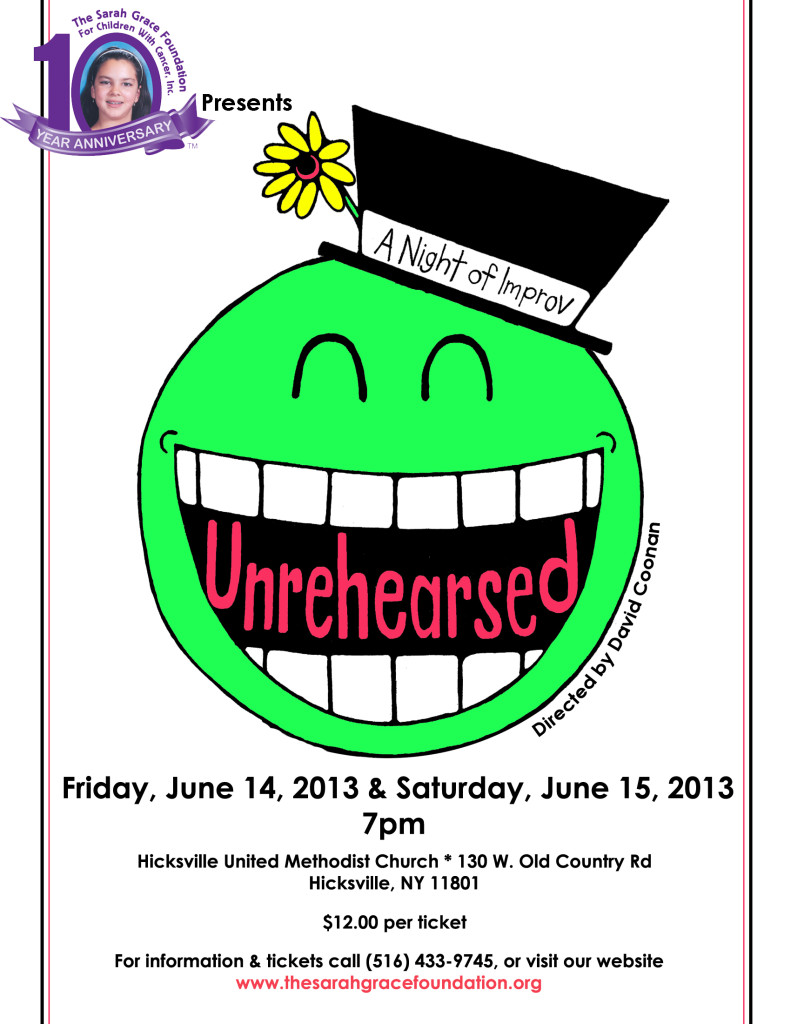 Unrehearsed poster 2013