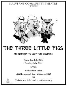 Three Pigs poster